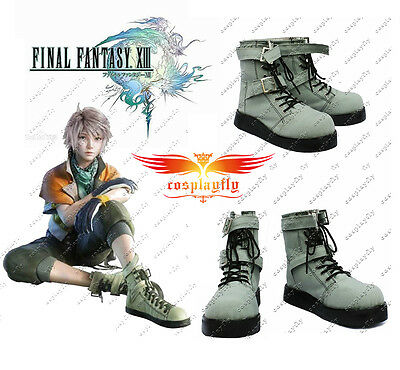 Final Fantasy XIII FF Hope Estheim Cosplay Boots Shoes B796