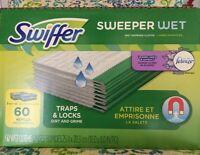 Swiffer Wet Refills Febreze Lavender & Vanilla Free Shipping 60 Ct.