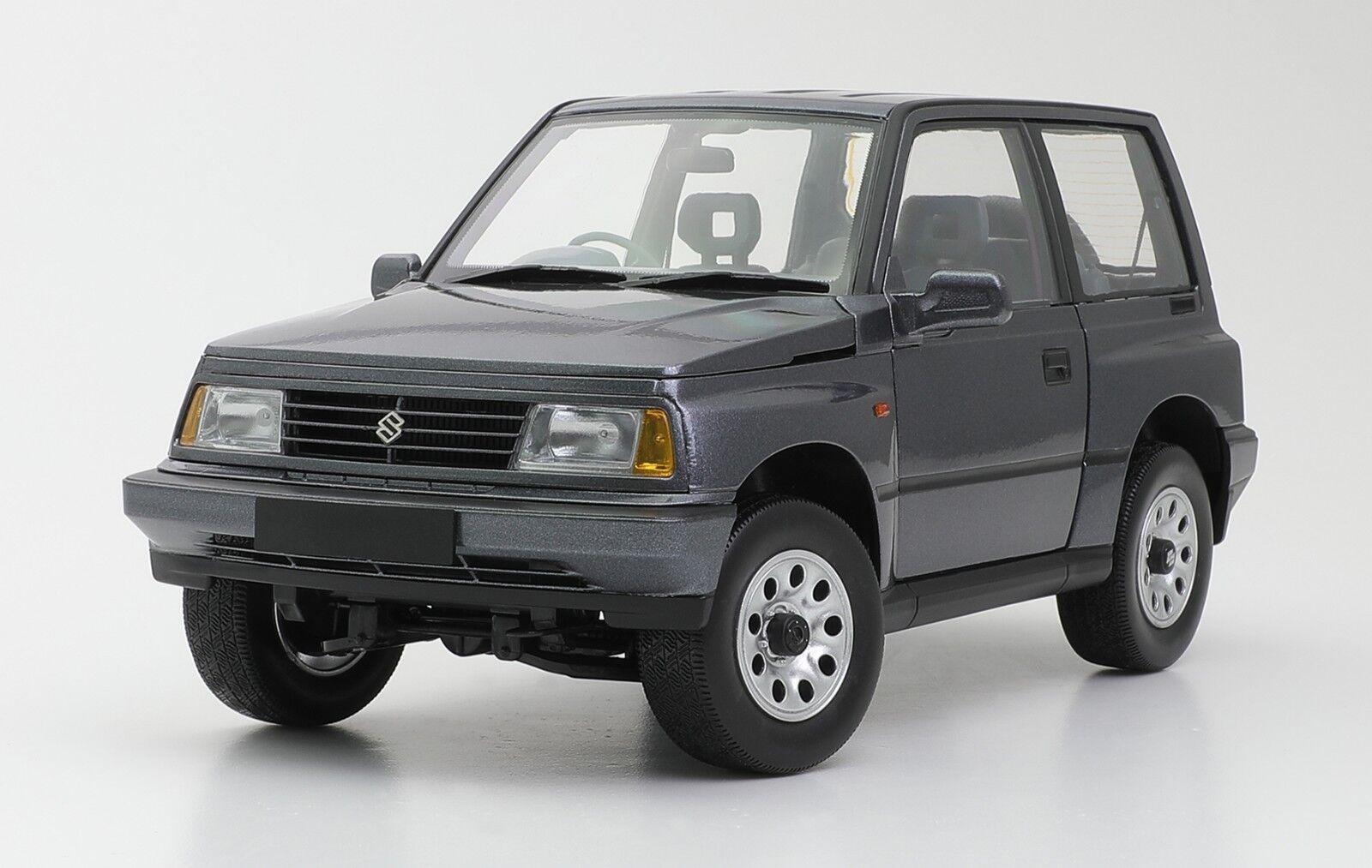 1 18 Suzuki Vitara Escudo SUV 4x4 AWD 1989 Diecast RHD Version DORLOP grau