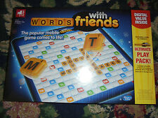 NEW Sealed Words with friends Zynga popular mobile game comes to life Hasbro