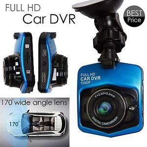 Automobile-DVR-2-5-034-HD-1080P-Full-HD-G-Sensor-grandangolare-Anti-Shock-Blue-NEW
