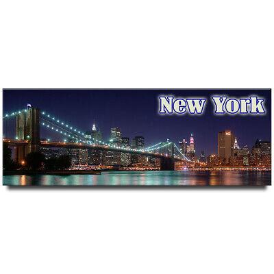 New York Magnet Metall Manhattan Skyline Brooklyn Bridge,New
