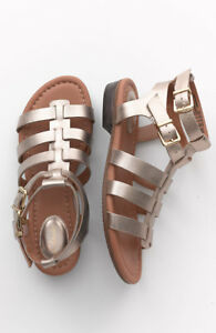 4b376003c Image is loading NEW-130-Clarks-Viveca-Myth-Gold-Gladiator-Sandal-