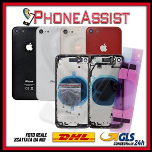 SCOCCA-POSTERIORE-FLEX-Per-Apple-iPhone-8-8G-TELAIO-VETRO-BACK-COVER-HOUSING