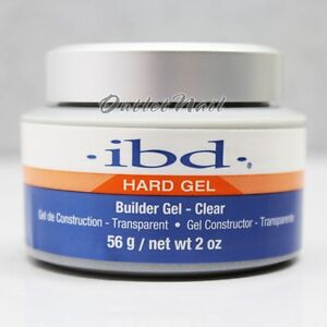 IBD-Builder-Gel-CLEAR-2-oz-56-gr-Item-60402-Strong-UV-Gels-System-SHIP-24H