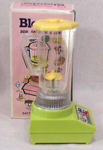 Vintage Alps BO Li'L Homemaker Toy Blender in OB and Works
