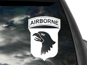 101st airborne air assault rear window decal for 101st airborne window decals