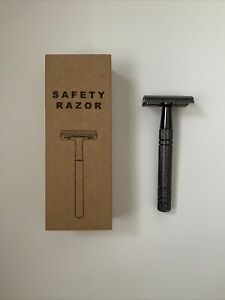 Double Edge Safety Razor (metal grip) *IN PACKAGE*