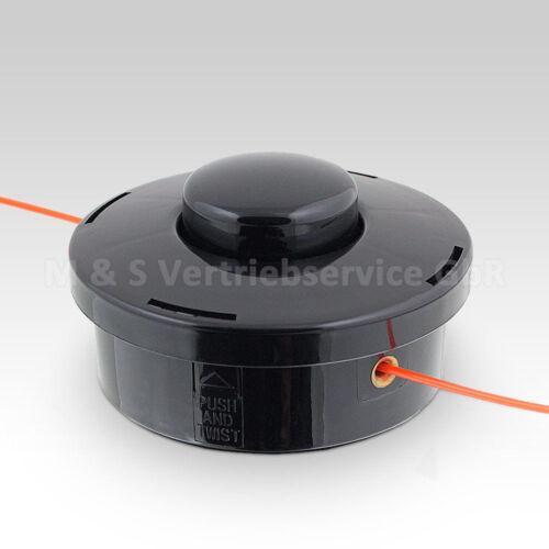 Doppelfadenkopf für 4in1 Benzin Heckenschere Astsäge Motorsense Rasentrimtrimmer