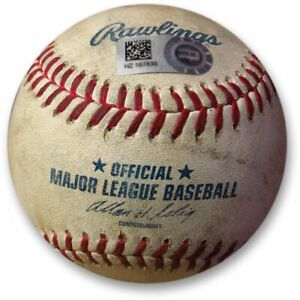 Los-Angeles-Dodgers-vs-Colorado-Rockies-Game-Used-Baseball-05-09-2010-MLB-Holo