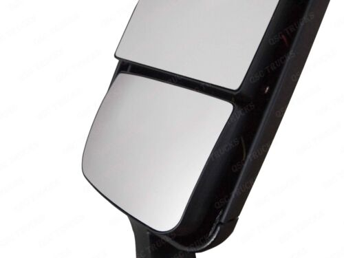 QSC Left Side Black Power /& Heated Door Mirror for Freightliner Cascadia 08-16
