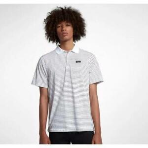 Nike-Men-039-s-Dri-Fit-SB-Skateboarding-Striped-Casual-Polo-Shirt-Save-40-XL
