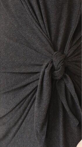 """Lrg//12 Hatch maternité femme /""""la Talia Robe/"""" en coton mélangé anthracite taille 3"""