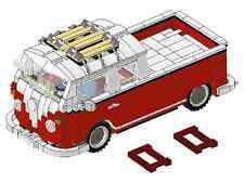Receta 10220 t1 bus doble cabina construiste única MOC de lego technic ste