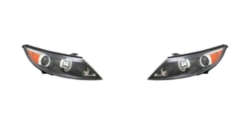 2011 2012 KA SPORTGE HEAD LAMP LIGHT HALOGEN LEFT AND RIGHT PAIR SET