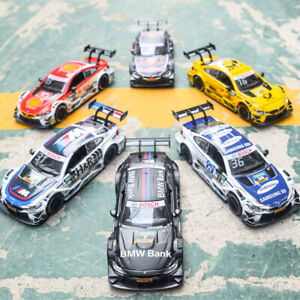 Diecast-Vehicles-Scale-1-32-BMW-M4-DTM-Sport-Model-Car-With-Sound-Light-Gifts
