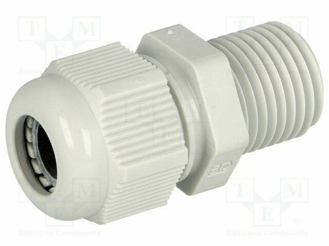 GPA-M16-L Cable gland - with long thread - M16 - IP68 - Mat: polyamide