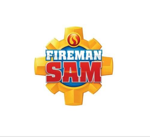 Sticker Pompier Sam Mural Chambre Enfant Jeunes Pompiers détachables