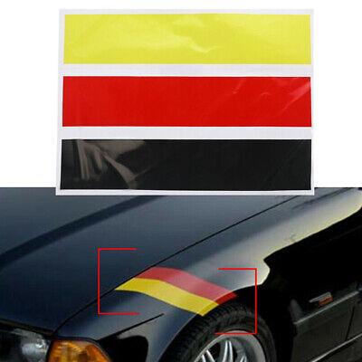 Stripe Decal Sticker German Flag Car For All BMW Exterior//Interior Decoration