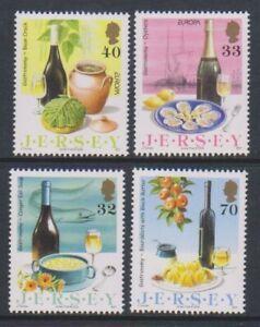 Jersey-2005-Europa-Gastronomie-Ensemble-MNH-Sg-1191-4