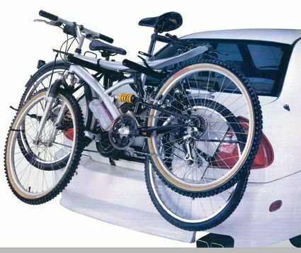 UKB4C C4 2006-2017 2 Cycle Carrier Rear Tailgate Boot Bike Rack Bicycle