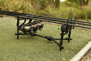 Fox-Black-Label-Compact-Pod-Complete-3-Rod-Kit-CRP035-Banksticks-amp-Buzz-Bars