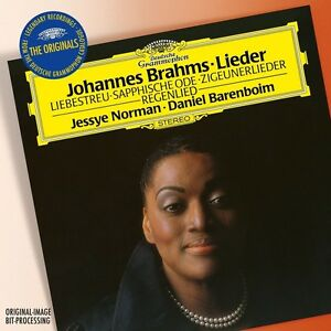 JESSYE-BARENBOIM-DANIEL-NORMAN-BRAHMS-LIEDER-CD-NEU-BRAHMS-JOHANNES
