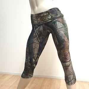Womens Camo Pants Camouflage Hot Yoga Camo Capri Legging SXYfitness ... d487d352cd