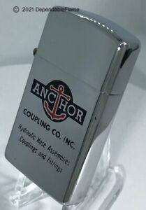 Vintage PARK Advertising Lighter ANCHOR COUPLING CO. INC. 100% Benefits HDSA🎗️