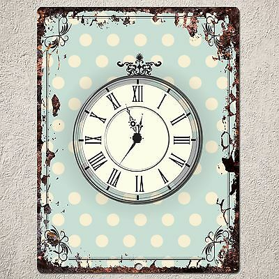 PP0044 Vintage Rust Home Store Cafe Restaurant Wall Interior Decor Gift sign