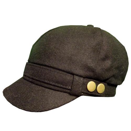 Pia Rossini Sombreros De Piel Sintética Baker Boy PAC Ruso Solapa Nuevo De Moda Boho Señoras Elegantes