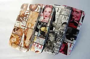 Purse-long-wallet-card-holder-fashion-vougue-magazine-4-colors-celebrity