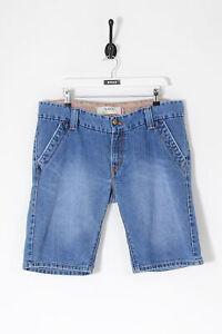 Vintage-Levi-039-s-504-Slouch-Bermuda-Denim-Shorts-Mid-Blue-w38