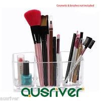 Multifunction Makeup Nail Polish Storage Lipstick Holder Brushes Organizer Box