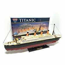 DELUXE Oxford TITANIC BUILDING SET Medium Lego-type Block Play Set Ages 8+ Yrs