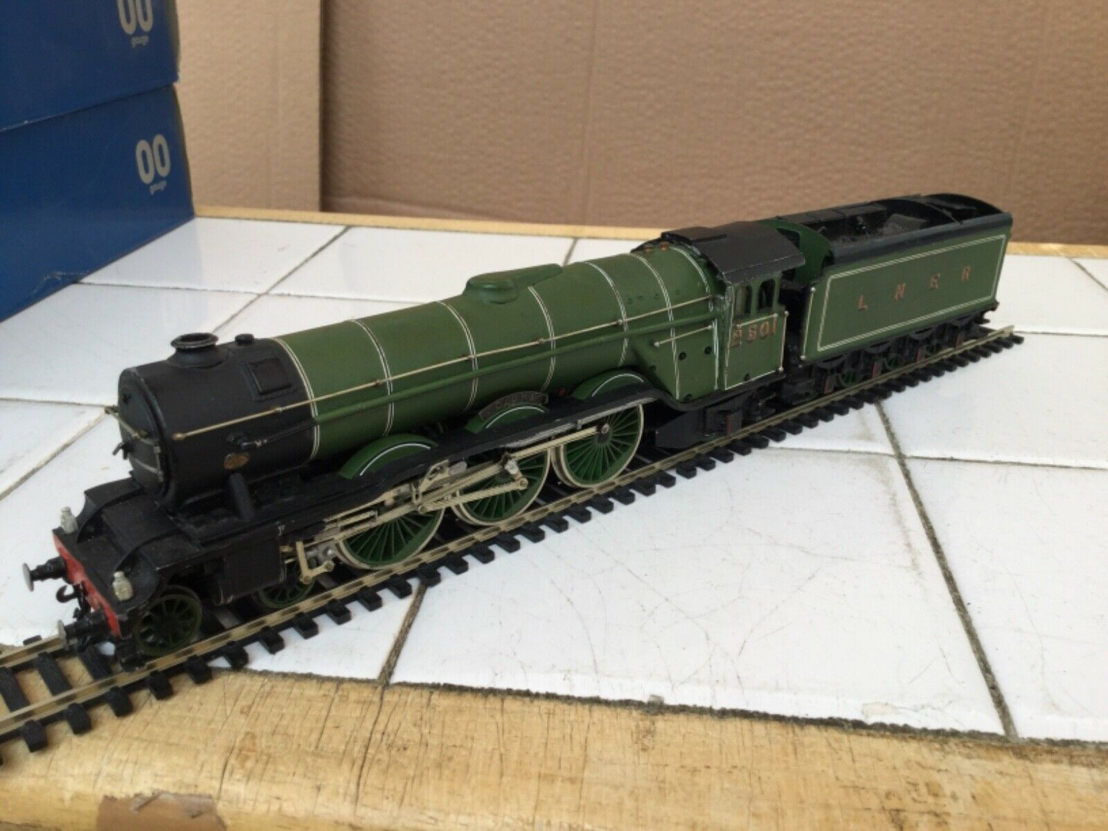 Kit Built OO Gauge LNER 4-6-2 A3 class Loco 2501 Colombo