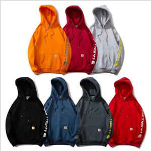 Carhartt Sweatshirt Sleeve Logo Hooded Kapuzenpullover HoodieS M L XL XXL