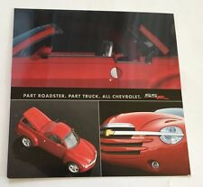 2003 2004 Chevrolet SSR Truck 1-page Collectors Brochure Card