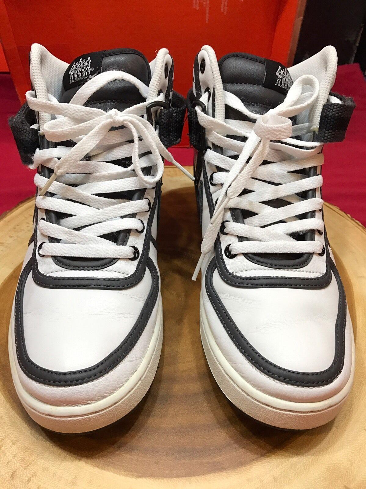 separation shoes c1ea0 75dad ... Nike Vandal Vandal Vandal High Black White Size 9.5 Philadelphia Philly  Panthers Jordan BFIVE 501dc8 ...