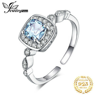 JewelryPalace Marquise Cubic Zirconia Adjustable 925 Sterling Silver Bracelet