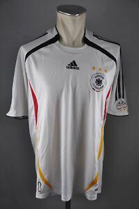 wholesale dealer ea0d7 7116e Details zu Deutschland Trikot 2006 Gr. L Adidas Jersey DFB Germany WM  Weltmeisterschaft
