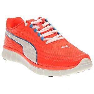 Puma-Mens-Blur-Running-Shoes-Fiery-Coral-White-Pick-SZ-Color