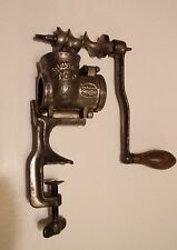 Vintage 1901 Patent Sausage Grinder Parts Russwin No. 0 USA New Britain CT