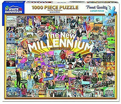 White Mountain Puzzles The Millennium 1000piece Jigsaw Puzzle For Sale Online Ebay