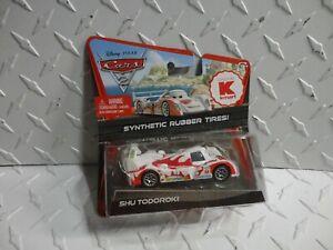 Disney Pixar Cars Shu Todoroki W Synthetic Rubber Tires Kmart Exclusive Ebay