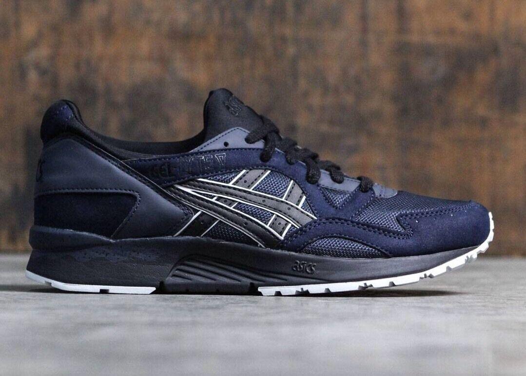 ASICS GEL LYTE V HN6A4 5090 Men's Running Shoes India Ink/black 100% AUTHENTIC