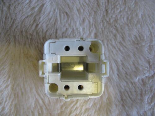 10 x G24q-1 D3 4 Pin Push Fit CFL Base Mount Lamp Light Holder UK Seller Job Lot