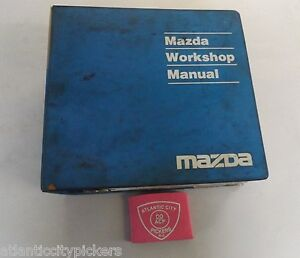 1996 MAZDA 626 / MX-6 SERVICE SHOP REPAIR MANUAL