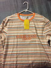 61f4b19db27f item 3 Guess x ASAP A$AP Rocky Striped Long Sleeve Tee Orange Multi Gue$$  Jeans Medium -Guess x ASAP A$AP Rocky Striped Long Sleeve Tee Orange Multi  Gue$$ ...