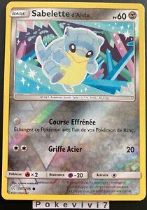 Carte-Pokemon-SABELETTE-137-236-REVERSE-Soleil-et-Lune-12-SL12-FR-NEUF